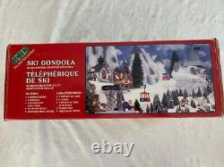 Rare Lemax Ski Gondola Ski Lift Missing AC/DC