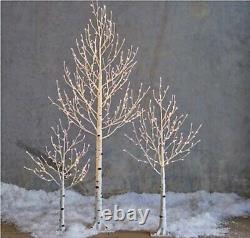 Raz Imports 3.5' LED LIGHTED BIRCH TREE Christmas Decor 3800936 NEW WOW