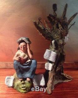 Reading Tree Girl by Demetrio Garcia Aguilar, Ocotlan, Mexico, Josefina son