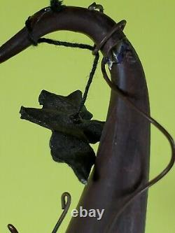 Retired Dept 56 Krinkles Halloween Witch Ornament Tree Display Patience Brewster