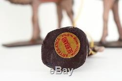 Reyes Magos barro Artesania Serrano 5060 Belén navidad navidades natale 15 cm