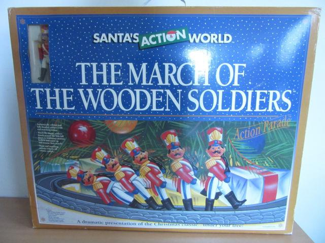 Santa's Action World The March Of The Wooden Soldiers Action Parade Christmas