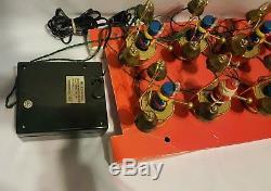Santa's Marching Band Musical Holiday Display