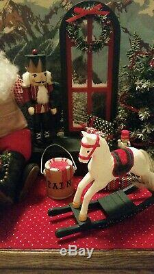 Santa's Toy Shop Musical Animated Holiday Creations With Box