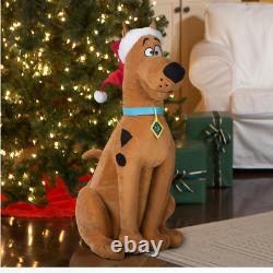 Scooby Doo Life Size Animated Singing Christmas Warner Brothers Open Box