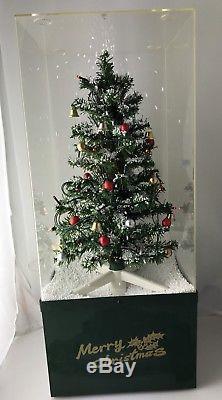 Snowing Christmas Tree Snow Blowing Christmas Decoration Music Lights Display