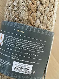 Studio McGee 48 Round Jute Christmas Tree Skirt White Target Threshold 2020 NEW
