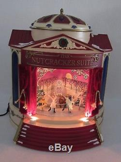 The Nutcracker Suite 2001 Mr. Christmas Gold Label Animated Musical- Mib