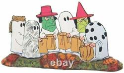Trick or Treat Lane with Peanuts Department 56 Snow Village Halloween 6007640 Z