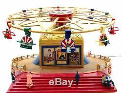 ULTRA RARE NEW MR. CHRISTMAS WORLDS FAIR FRENZY RIDE 50 Tune Music Box NIB