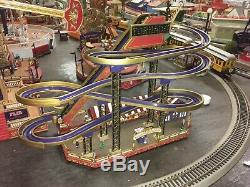 Ultra Rare Mr. Christmas World's Fair Tornado Roller Coaster Works