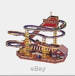 Ultra Rare Mr. Christmas World's Fair Tornado Roller Coaster Works! Mint