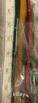 VERY RARE BUCILLA Felt Kit SNOWFLAKE SANTA 2009 NIP 86161 BY MARY ENGELBREIT