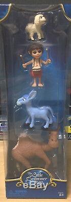 VERY RARE The Little Drummer Boy Nativity PVC Rankin Bass Figures TV Figurines