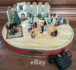 VTG 1997 Mr Christmas Holiday Waltz Victorian Dancers 5 Couples 30 Songs 100%