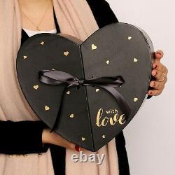 Valentinstag Geschenk Ewige Liebe Infinity Rosen Box Herz XXL Rosenbox Flowerbox
