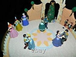 Very Rare 1999 Mr. Christmas Disney Classics Cinderella Ball Very Nice