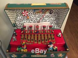 Vintage 1994 Mr Christmas Santa's Musical Toy Chest 35 Songs Rare