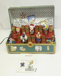 Vintage 1994 Mr Christmas Santa's Musical Toy Chest 35 Songs Rare Free S&H