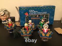 Vintage 1997 Mr Christmas A Mickey Unlimited Musical Holiday Xylophones Disney