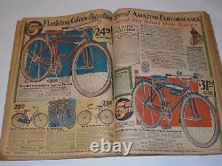 Vintage Depression 1930-31 Montgomery Ward F&w Catalog! Xmas Section In Color