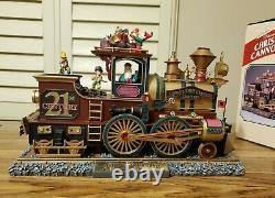 Vintage Mr. Christmas Gold Cannonball Train NIB