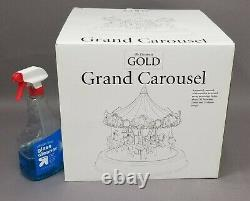 Vintage Mr. Christmas Gold Grand Carousel NIB