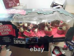 Vintage Mr Christmas Santas Marching Band 1992 Toy Soldiers 35 Tunes Tested