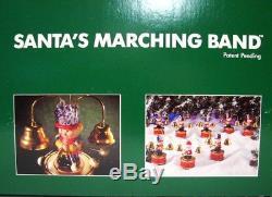 Vintage Mr Christmas Santas Marching Band Christmas Carols Ornaments Holiday
