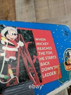 Vintage Mr. Christmas Stepping Mickey Mr. Christmas 1995 Disneys Mickey Mouse
