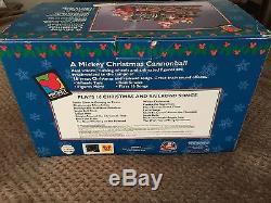 Vintage Mr. Mickey Christmas Cannonball Train