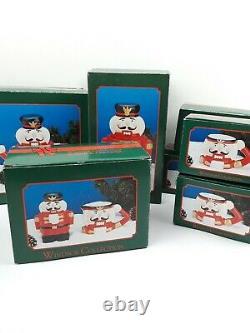 Vintage Toy Soldier Nutcracker Mug Holiday Tea Set Cookie Jar Cream and Sugar