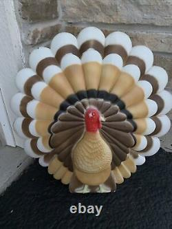 Vintage Union Thanksgiving 20 Lighted Blow Mold Only Turkey Don Featherstone #1