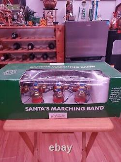 Vtg 1991 Mr. Christmas Holiday SANTA'S MARCHING BAND 16 Musical Bells 35 Songs