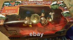 Vtg 1992 Mr Christmas Disney Mickeys Marching Band Musical Bells 35 Songs