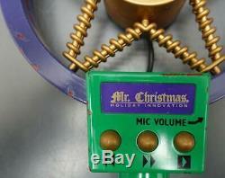 Vtg 1993 MR CHRISTMAS Holiday Innovation Sing Along with Santa Karaoke Music