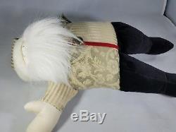 WOOF & POOF Vintage Musical Santa 2000 Deck the Halls 16