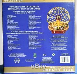 WORLD'S FAIR FRENZY RIDE Mr. Christmas Music Box Gold Label Collection BOXED
