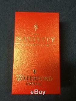 Waterford Millennium Nativity Shepherd Boy- Original Box & Sleeve -Vintage New