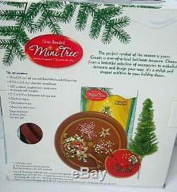 Westrim 2008 Glass Beaded Mini Tree Kit