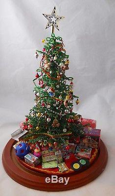 Westrim Beaded Christmas Tree Complete with Miniature Toys