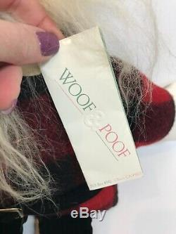 Woof & Poof Musical Santa NWT S1