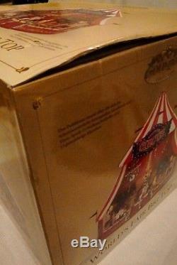 World's Fair Mr. Christmas -Big Top -Gold Label With Box NICE